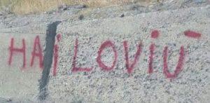 errore grammaticale su muro