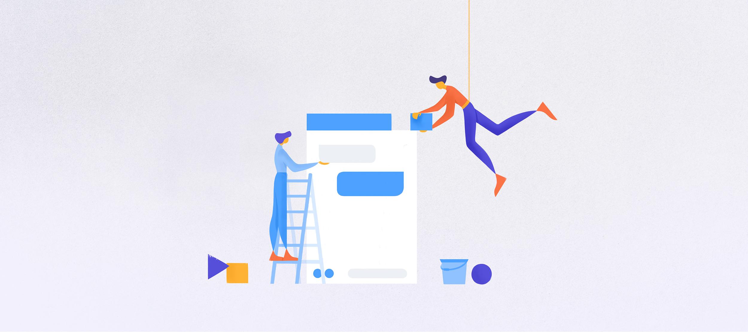 raffigurazione della costruzione del chatbot