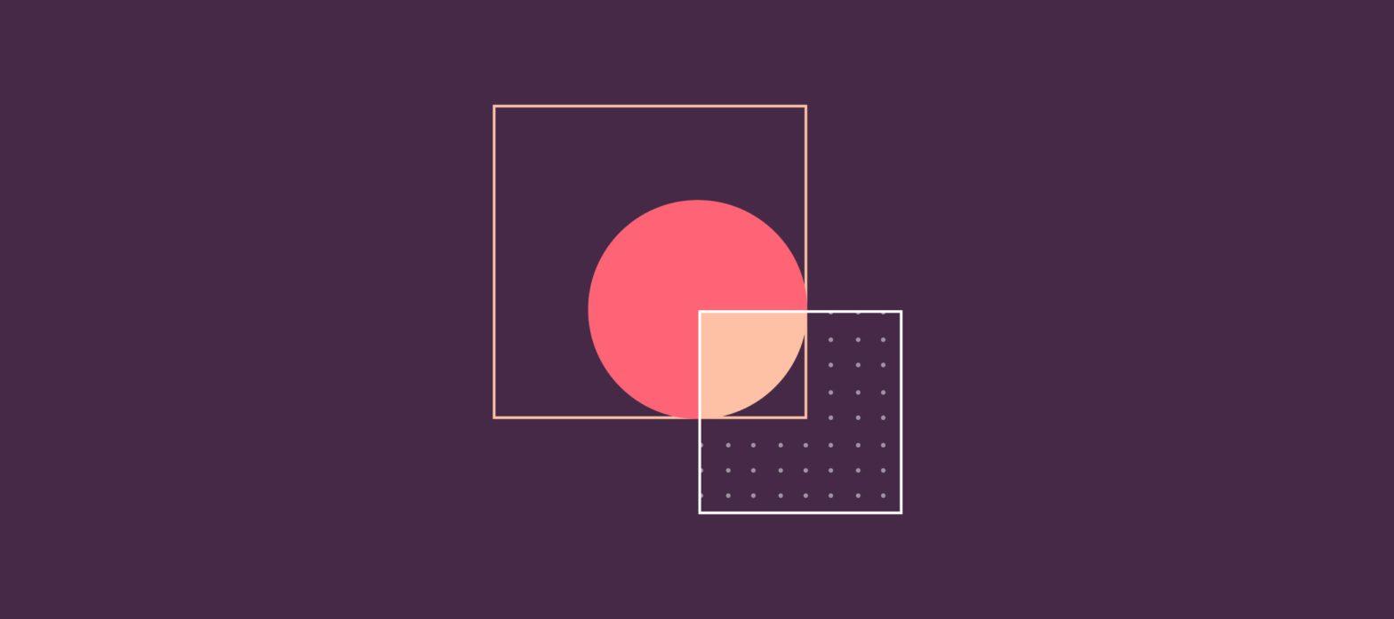 illustrazione raffigurante due quadrati, simbolo di intelligenza artificiale e medicina e della loro intersezione