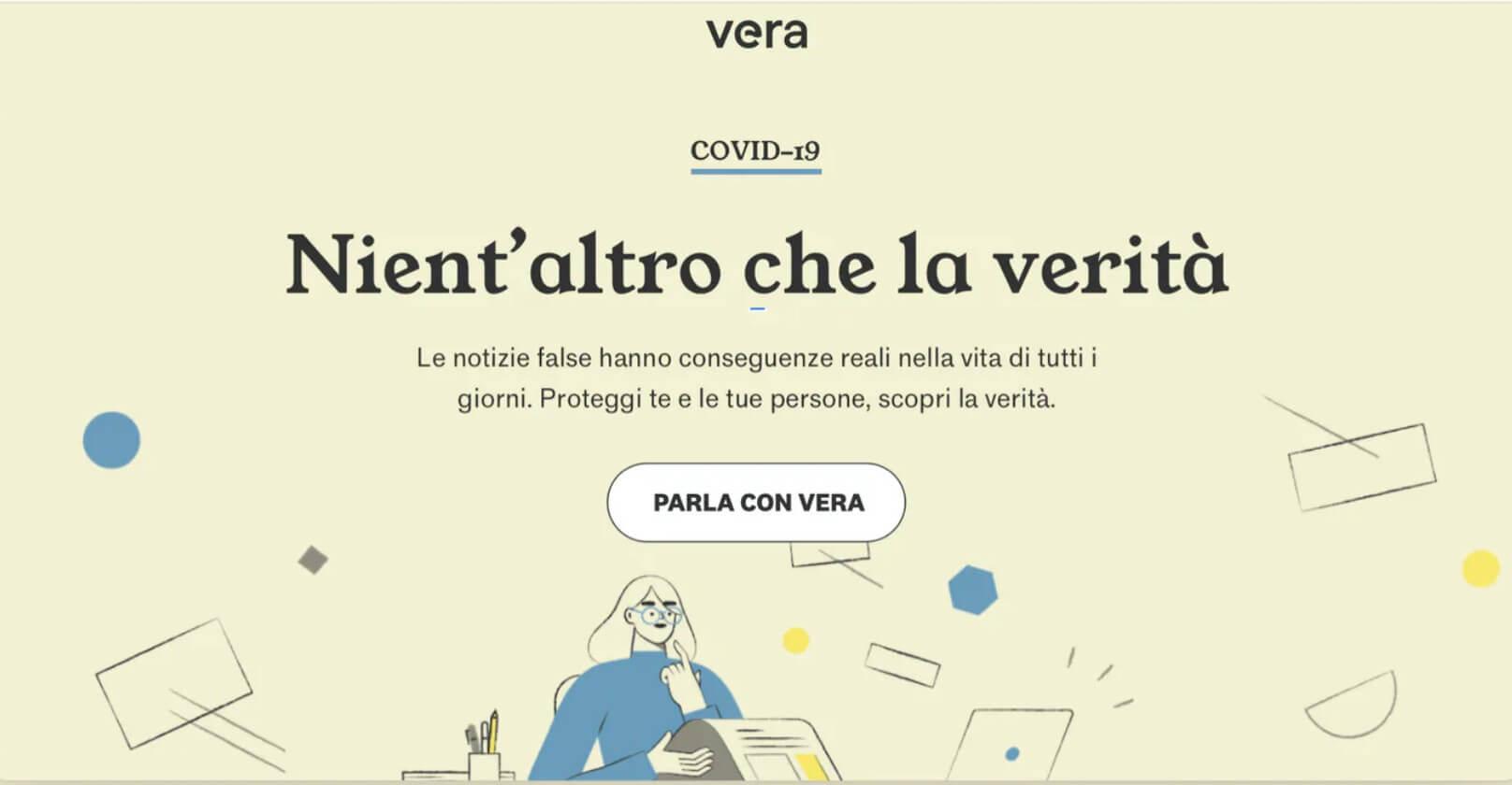 il progetto Vera di Indigo.ai per combattere la disinformazione da Covid-19